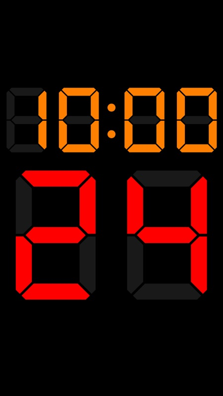 0 0 shot clock basketball clipart image royalty free library Basketball Shot Clock 24 - Online Game Hack and Cheat | Gehack.com image royalty free library