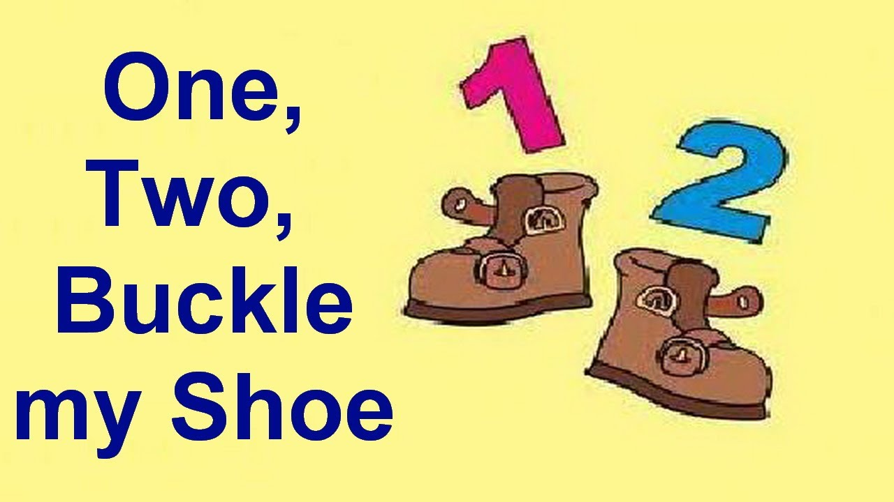 1 2 buckle my shoe clipart image free library One Two Buckle My Shoe - Nursery Rhymes - Shemaroo Kids - YouTube image free library