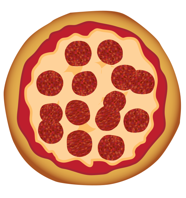 Download pizza food images. Free clipart kids funny slices of cheese