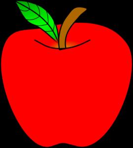 1 apple clipart vector transparent 1 apple clipart - ClipartFest vector transparent