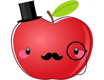 1 apple clipart royalty free stock Cute Apple Clipart - Clipart Kid royalty free stock