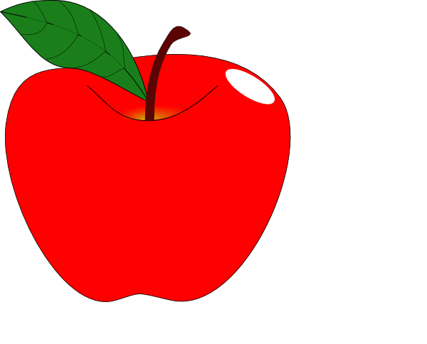 clipartfest red clip. 1 apple clipart