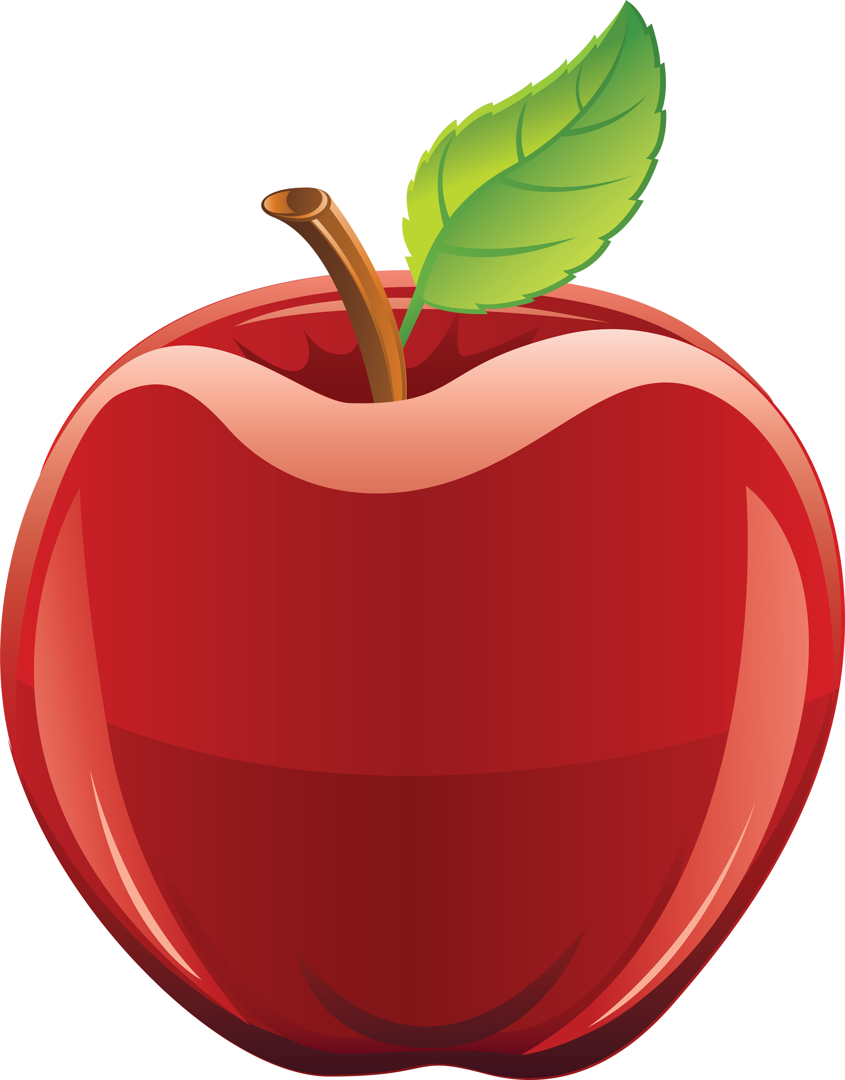 Apple hand clipart vector free download One apple clipart - ClipartFest vector free download