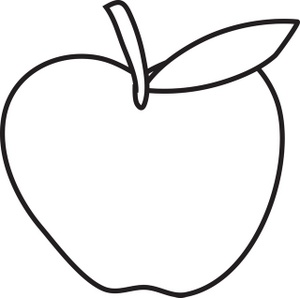 1 apple clipart clip art transparent library Apple lines clipart - ClipartFest clip art transparent library