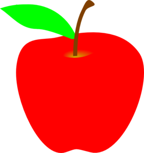 1 apple clipart. Clip art to download