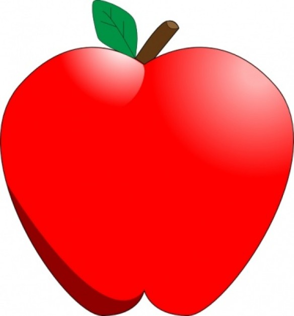 1 apple clipart clipart free download Apple Clipart - Clipart Kid clipart free download