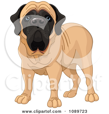 1 big 1 small dog cartoon clipart picture Royalty-Free (RF) Big Dog Clipart, Illustrations, Vector Graphics #1 picture