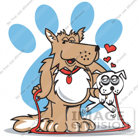 1 big 1 small dog cartoon clipart graphic 1 big 1 small dog cartoon clipart - ClipartFest graphic