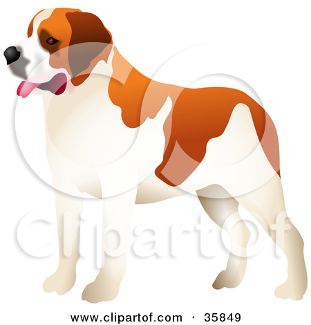 1 big 1 small dog cartoon clipart clipart download Royalty-Free (RF) Big Dog Clipart, Illustrations, Vector Graphics #1 clipart download