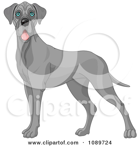1 big 1 small dog cartoon clipart svg royalty free stock Royalty-Free (RF) Big Dog Clipart, Illustrations, Vector Graphics #1 svg royalty free stock