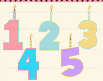 1 birthday candle clipart clip art free library 1 birthday number candles clipart - ClipartFest clip art free library