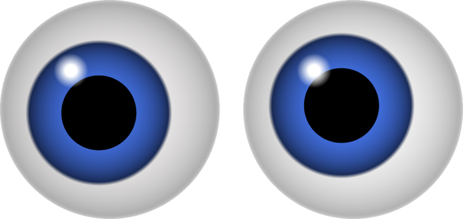 1 blue eye clipart - ClipartFest image free download