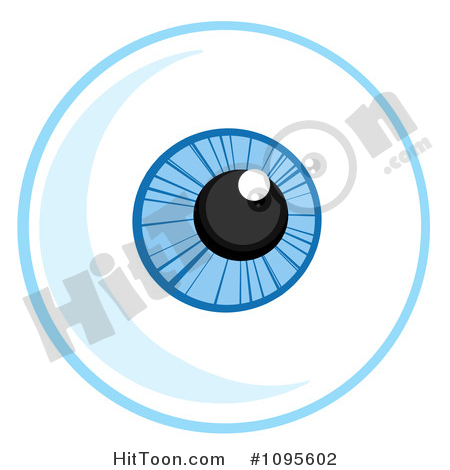 1 blue eye clipart. Royalty free stock illustrations