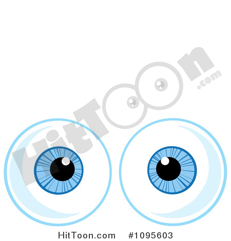 Royalty free stock illustrations. 1 blue eye clipart