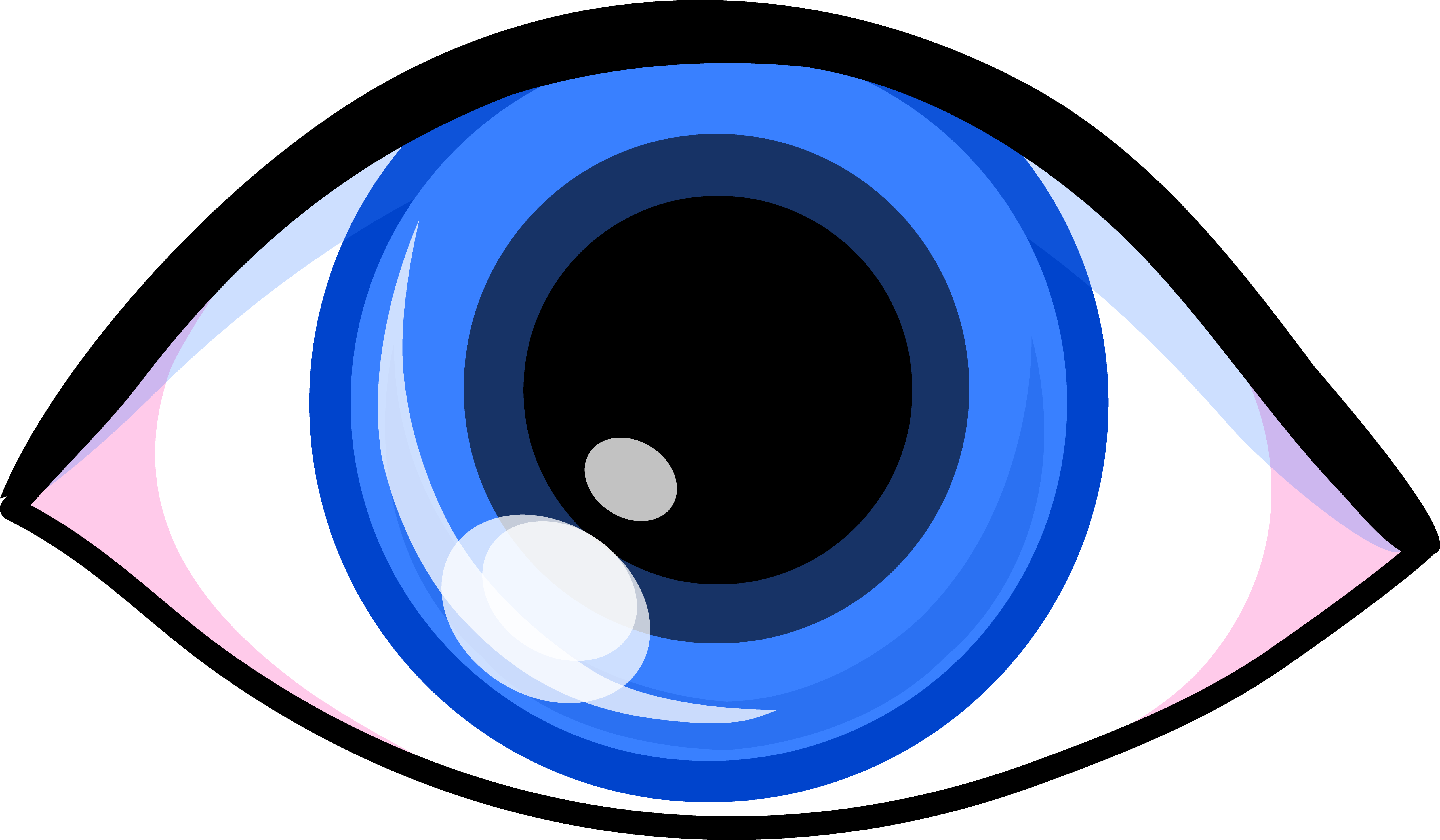 1 blue eye clipart - ClipartFest png royalty free download
