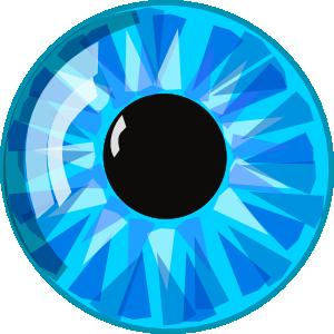 Blue eye clipart - ClipartFest banner stock