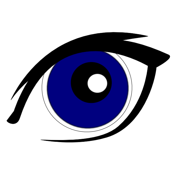 Blue eye clipart - ClipartFest clip free download