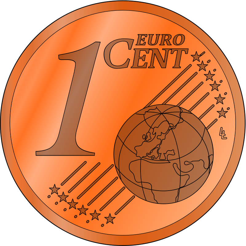 1 Cent Clipart - Clipart Kid graphic free library
