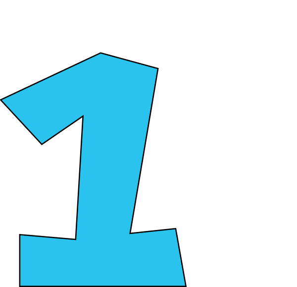 Number at getdrawings com. Clipart 1