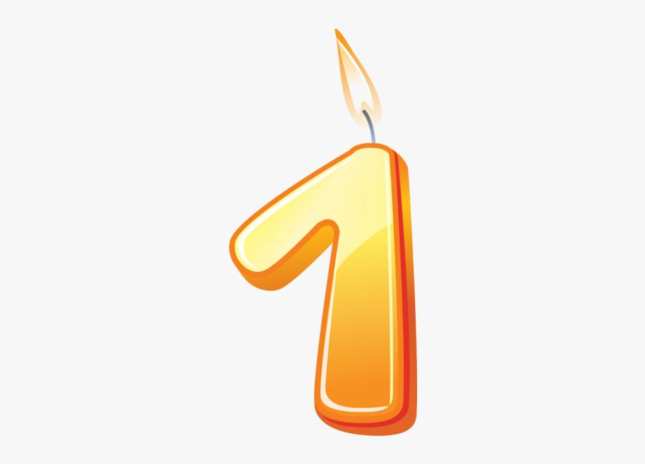 1 transparent clipart clip art free Number 1 Clipart Candle - Transparent 1 Birthday Candle #218438 ... clip art free