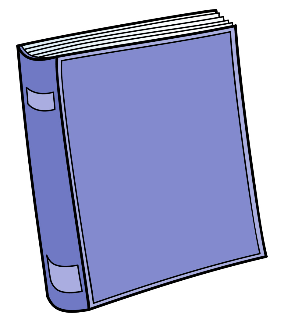 1 color clipart png transparent Clip Art: Cute Book 1 Color 1 | abcteach png transparent