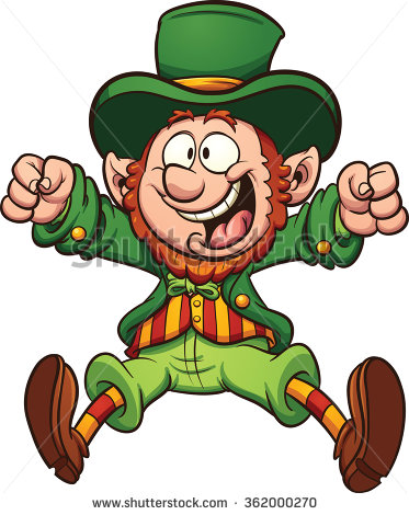 1 color leprechaun clipart banner freeuse library Leprechaun Stock Images, Royalty-Free Images & Vectors | Shutterstock banner freeuse library