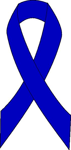 clipartfest colon cancer. 1 color ribbon clipart