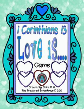 1 corinthians 13 1-13 clipart banner freeuse download 1 Corinthians 13 - Love Is.... Game banner freeuse download