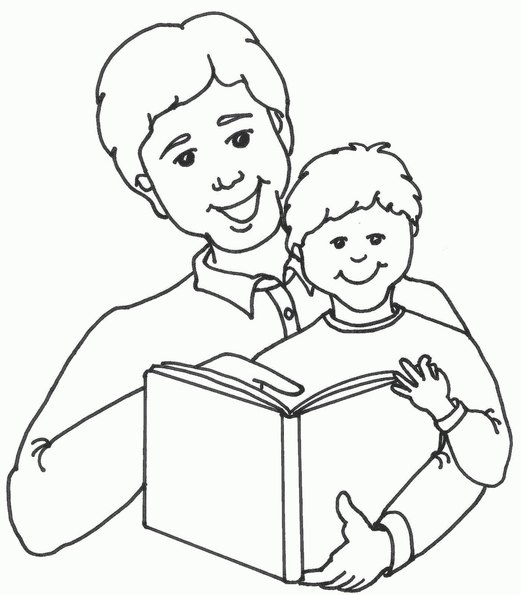 Picture of father clipart black and white svg stock Parents Day Black And White Clipart with regard to Father Clipart ... svg stock