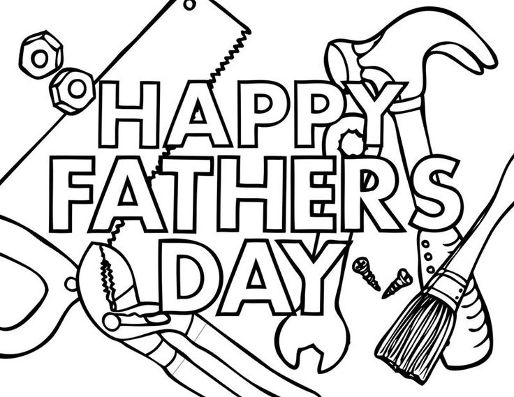 Have a great day clipart black and white svg black and white Happy Fathers Day Clipart | Free download best Happy Fathers Day ... svg black and white