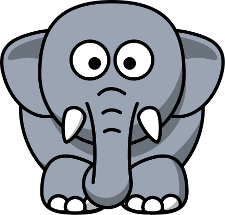 1 elephant clipart free stock Free Elephant Clipart, 1 page of Public Domain Clip Art free stock