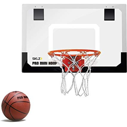 1 fan clipart basketballball image freeuse SKLZ Pro Mini Basketball Hoop with Ball, Standard (18 x 12 inches) image freeuse