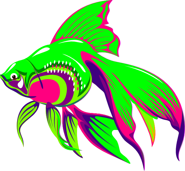 Free down load clipart & photo big fish image black and white Gold Fish 1 Clip Art at Clker.com - vector clip art online, royalty ... image black and white