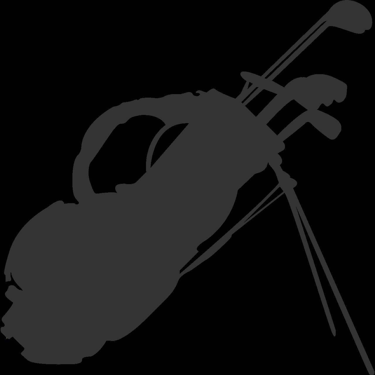 1 golf club silhouette clipart banner free library Golf Clubs Golfbag Sports - Tahiti Hut Silhouette png download ... banner free library