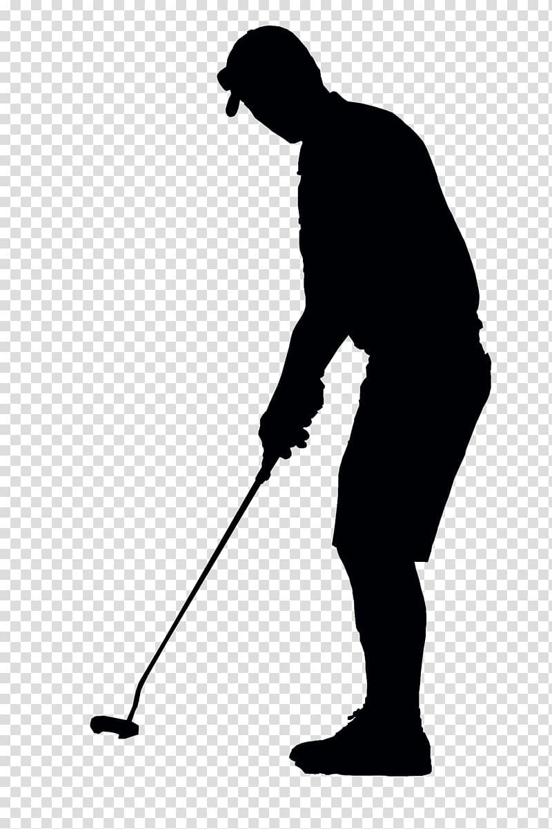 1 golf club silhouette clipart svg stock Silhouette of man holding golf club illustration, Golfer Black ... svg stock