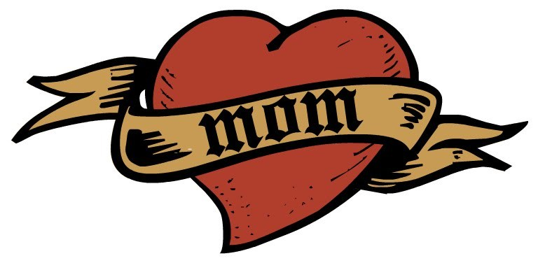 1 heart mom tattoo clipart black and white Mom tattoo clipart 1 » Clipart Portal black and white