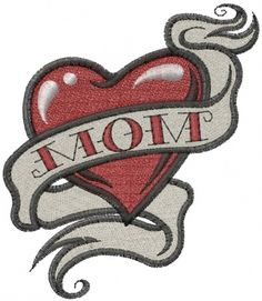 1 heart mom tattoo clipart freeuse 39 Best Mom Heart Tattoo Designs And Skull images in 2017 | Tattoos ... freeuse