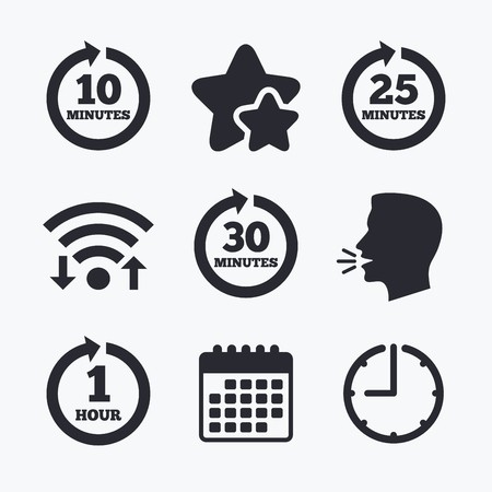 1 in every 10 clipart clip art library library Every 10, 25, 30 minutes and 1 hour icons. Full rotation arrow ... clip art library library
