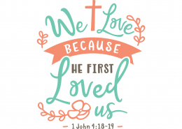 1 john 4 4 kjv with clipart image royalty free download Free SVG files - Bible Verses | Lovesvg.com image royalty free download