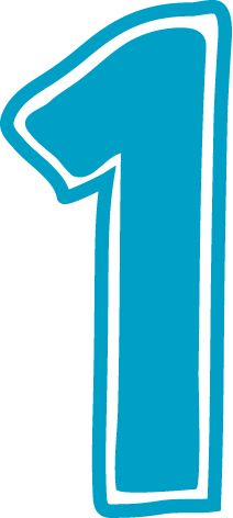 1 number clipart picture black and white stock Blue number 1 clipart - ClipartFest picture black and white stock