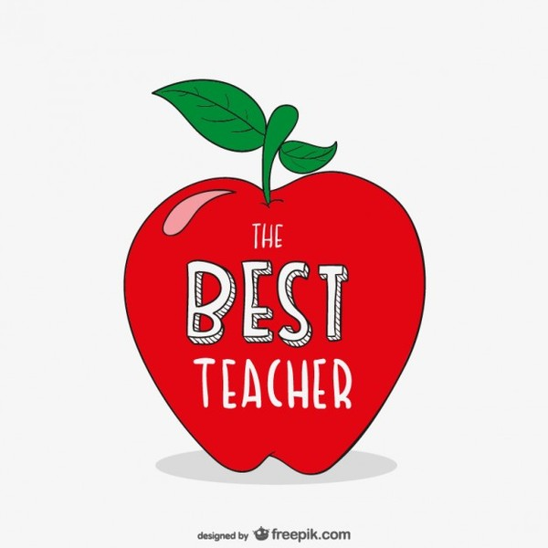 1 teacher apple clipart clip art transparent stock Apple teacher clipart - ClipartFox clip art transparent stock