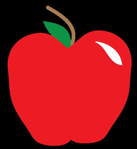 1 teacher apple clipart - ClipartFest image free stock