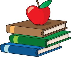Teachers Apple - ClipArt Best banner black and white stock