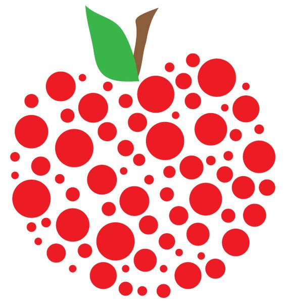 Teacher apple | Free Apple Clipart and printables for art projects ... svg black and white library