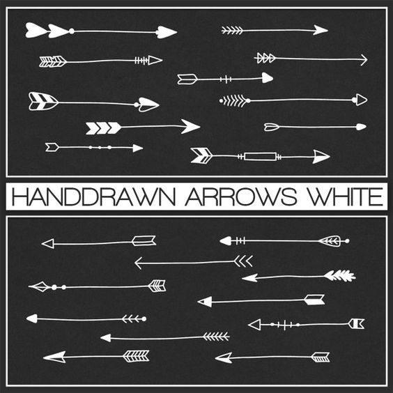 1 tribal arrow clipart clipart transparent stock Hand drawn, Arrows and Tribal arrows on Pinterest clipart transparent stock