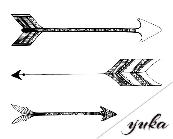 images about tats. 1 tribal arrow clipart