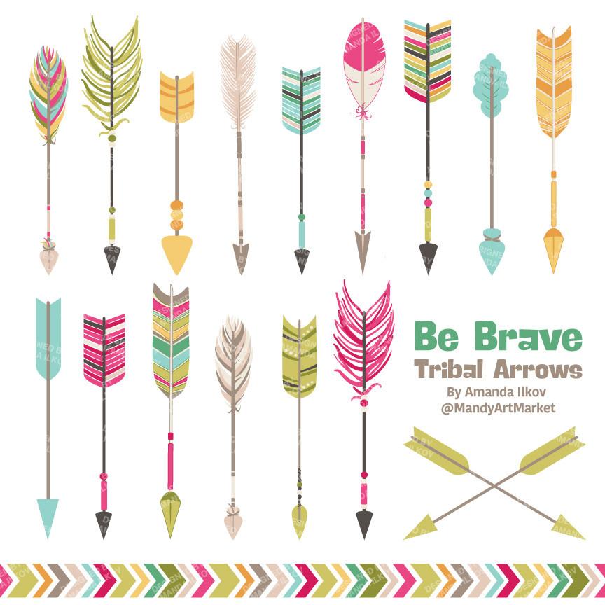 1 tribal arrow clipart vector transparent download Tribal arrow clip art - ClipartFest vector transparent download