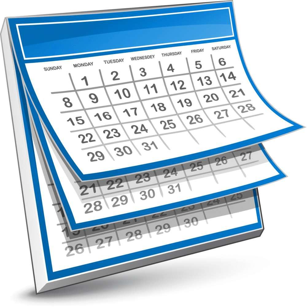 1 week calendar clipart graphic freeuse download Weekend Programming Challenge – Week #47 Calendar dates substraction ... graphic freeuse download