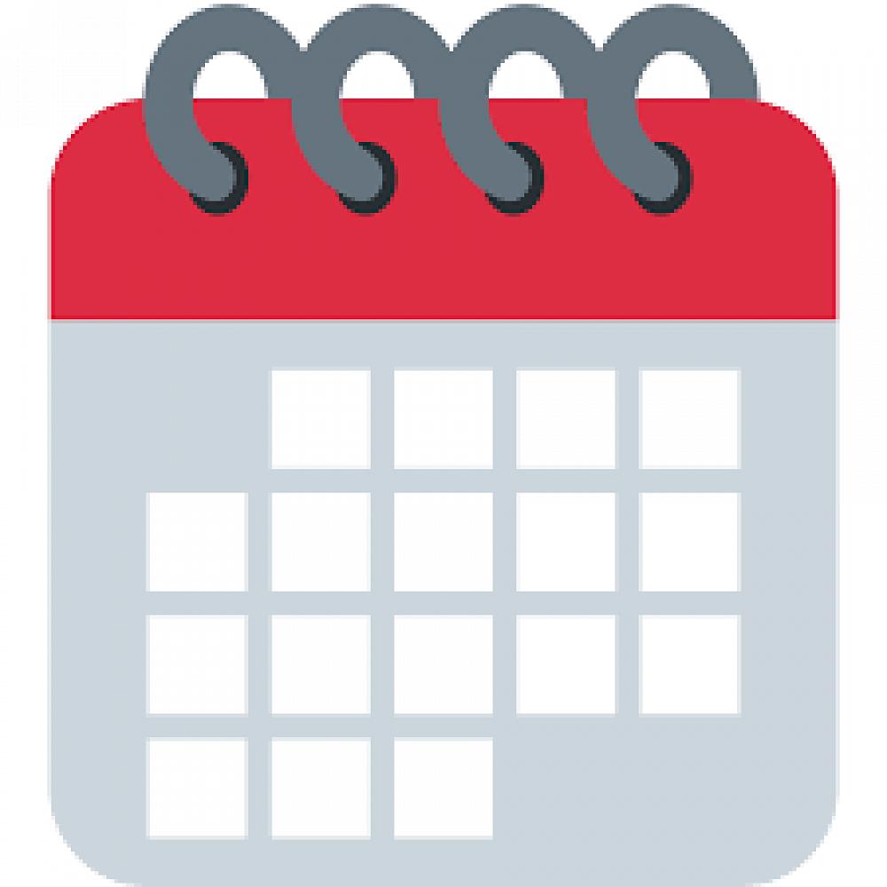 1 week calendar clipart free library Calendar: - Newsletter - Term 1 Week 11, 2019 free library