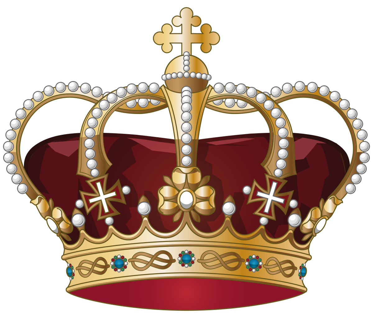 English crown clipart image library library File:Crown of Italy.svg - Wikipedia image library library